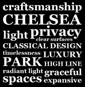 word cloud Chelsea, Park, Privacy