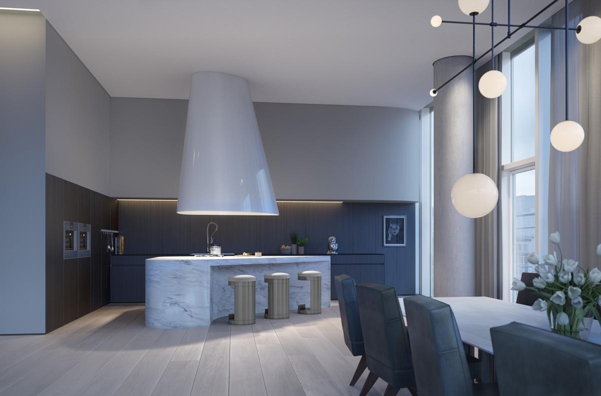 Apartment New York - Visualisierung