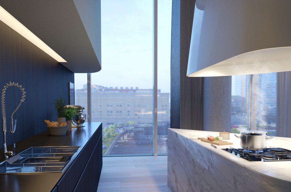 Küchenblock Visualisierung