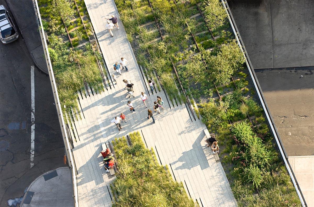 Bild New York Highline Park