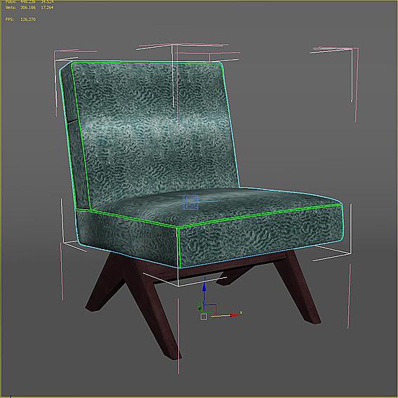 Texturiertes 3D-Modell