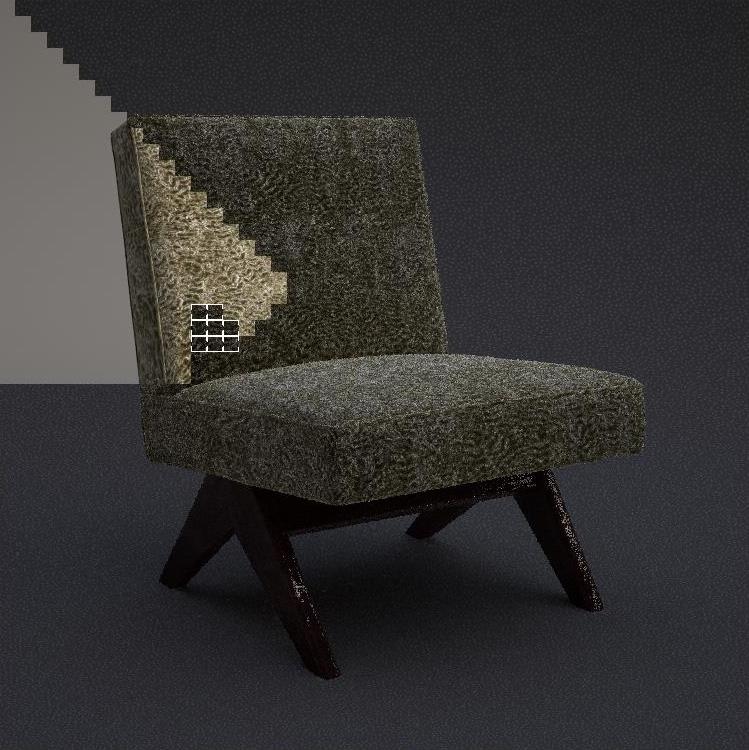 Rendering vom 3d modell zum fertigen bild for Corbusier nachbau
