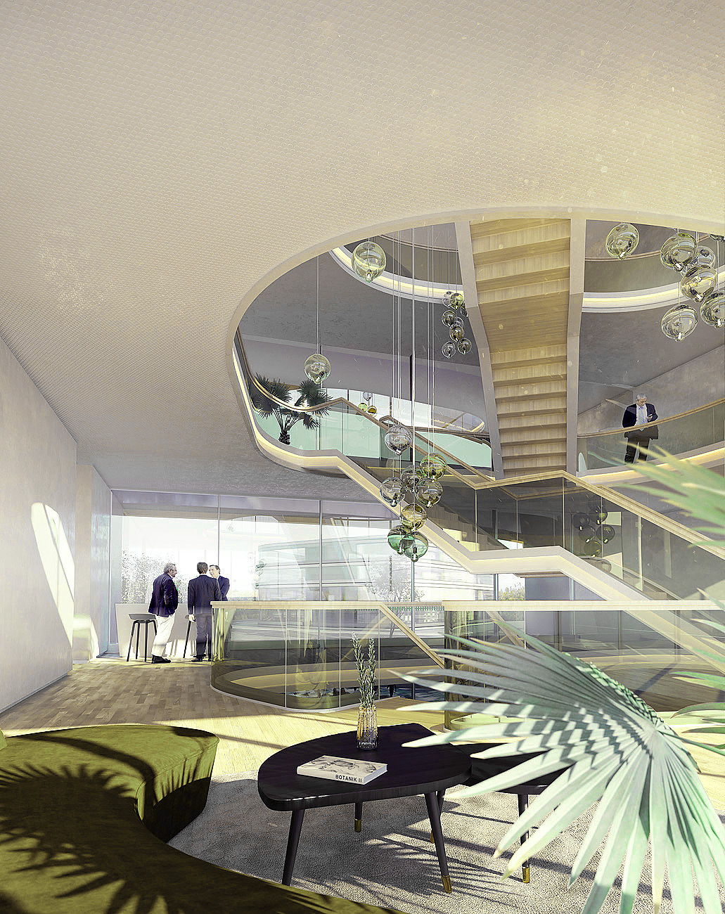 Architekturvisualisierung Innenraum