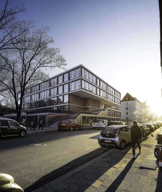 Visualisierung einer Schule in München