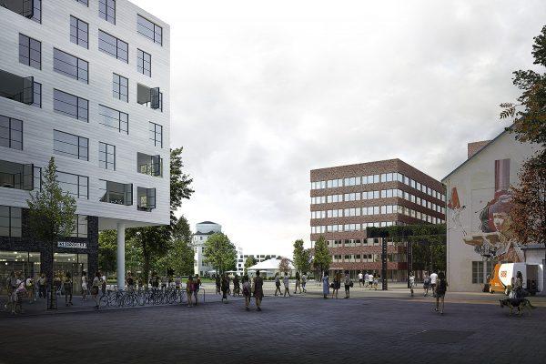 Visualisierung Werkhof für Steidle Architekten München
