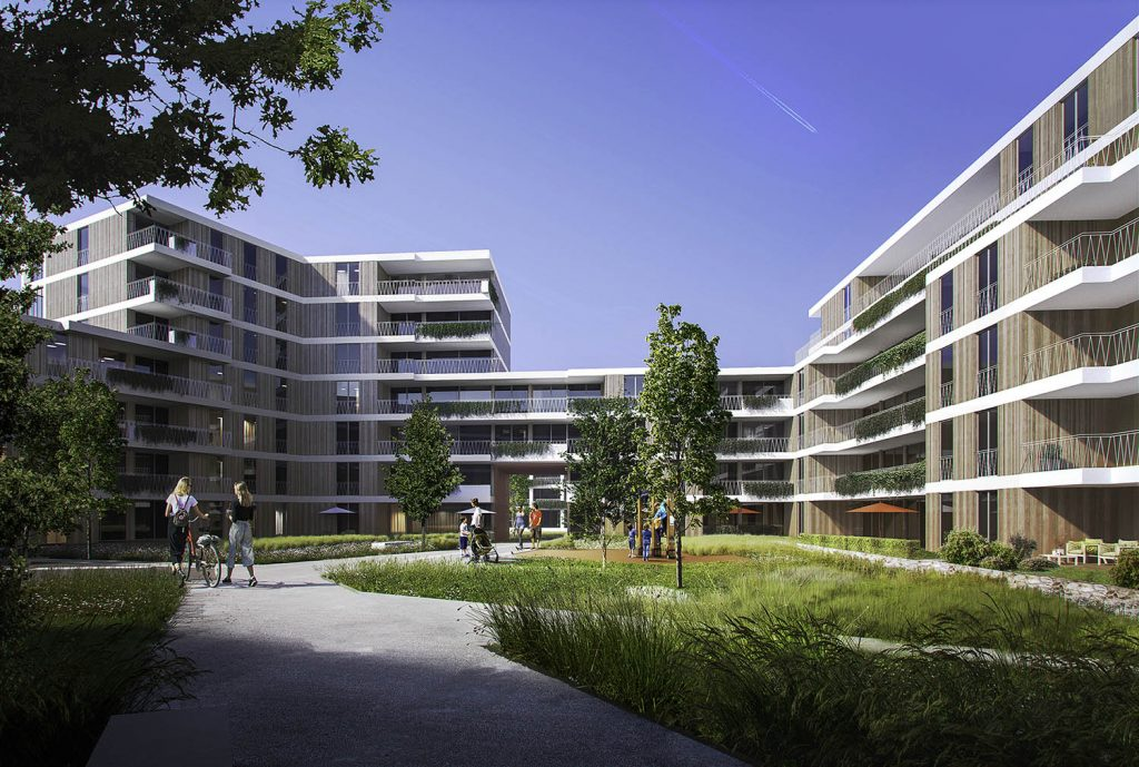 Architekturvisualisierung Paul-Gerhard-Allee
